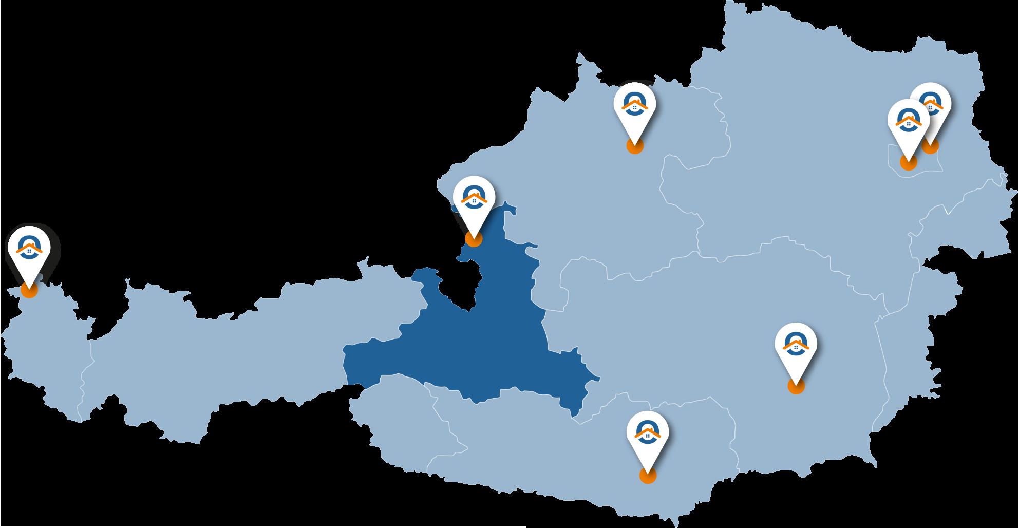 Oesterreich-Karte-Szbg
